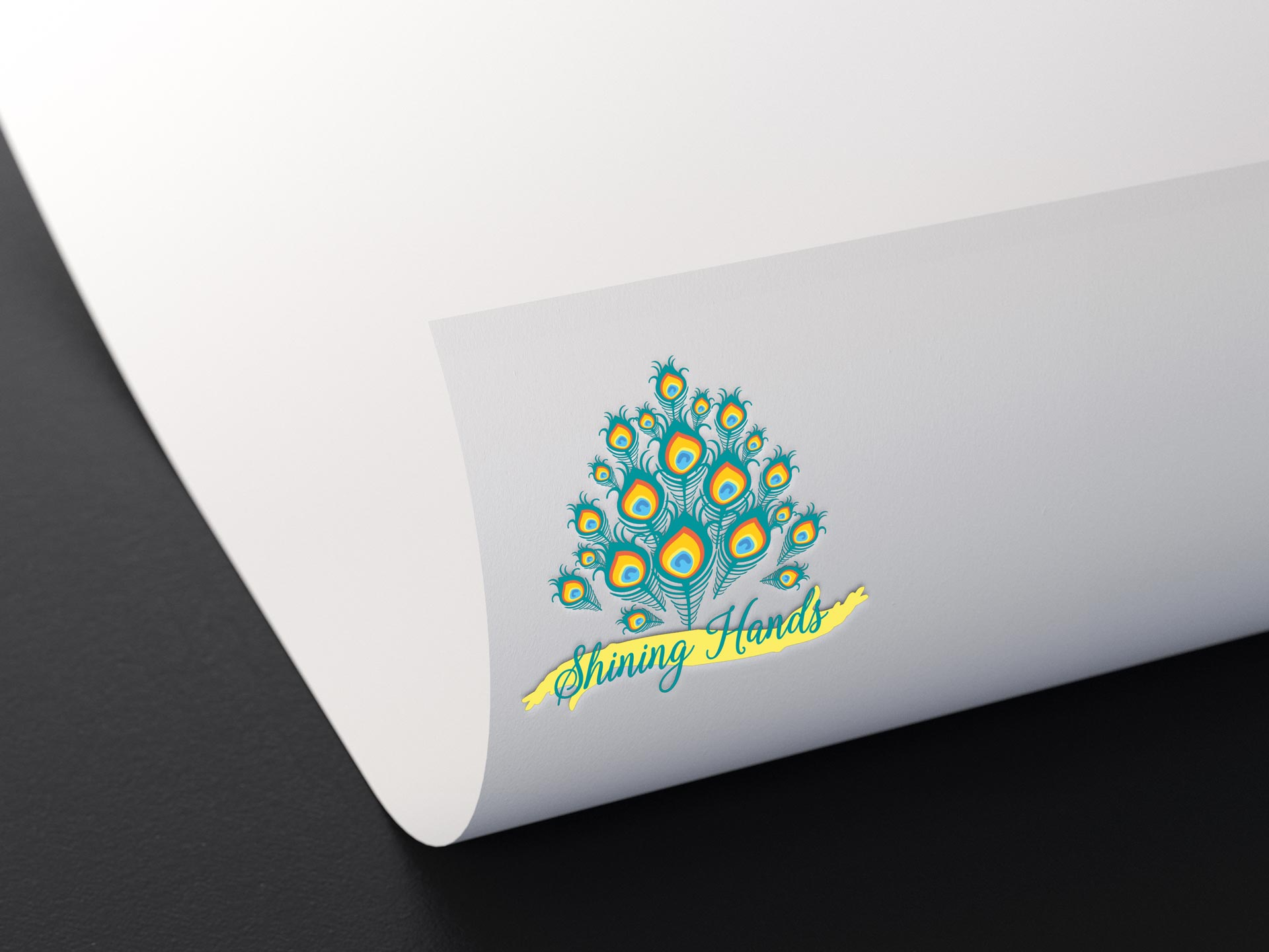 Logo-Design-Shining-Hands